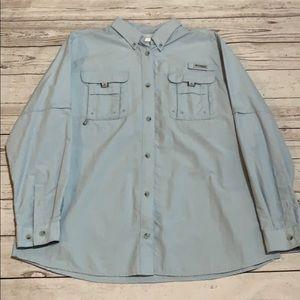 Columbia PFG men's shirt size XL